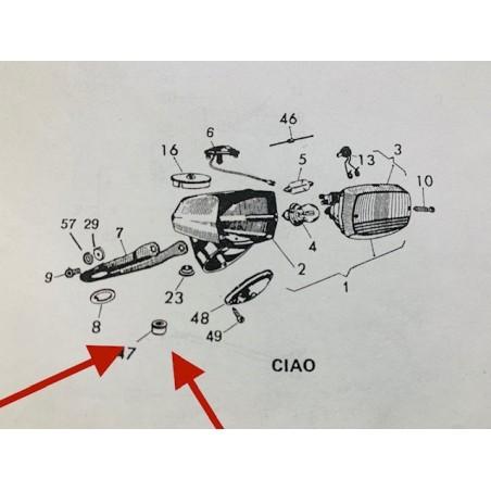 Parabrezza Gilera GP800